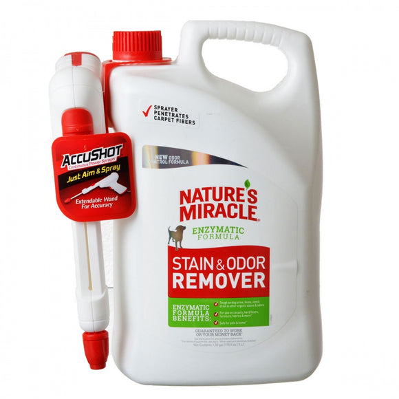 Nature's Miracle Stain & Odor Remover Battery Operated Power Spray
