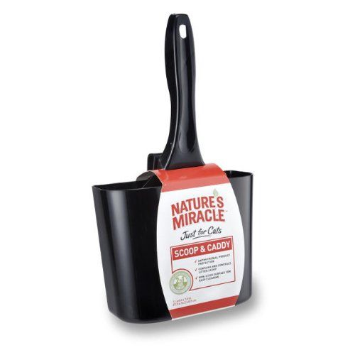 Nature's Miracle Just for Cats Scoop & Caddy Combo Pack