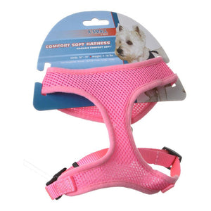 Coastal Pet Comfort Soft Adjustable Harness - Pink