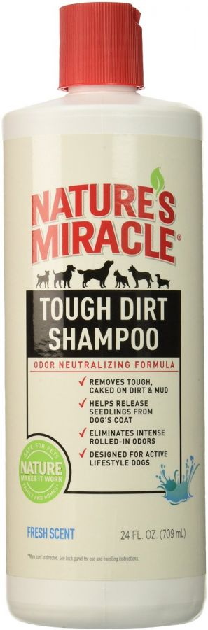 Nature's Miracle Tough Dirt Shampoo - Odor Neutralizing