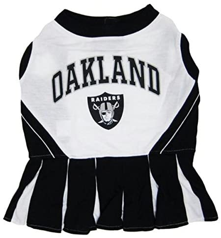 Oakland Raiders Cheerleader Pet Dress