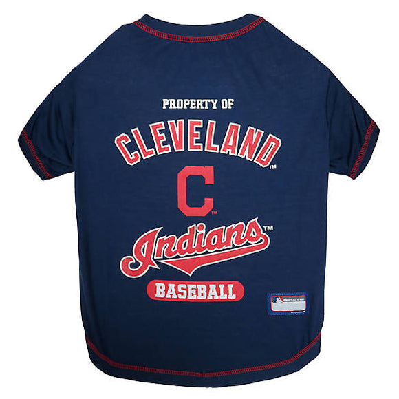 Cleveland Indians Pet Tee Shirt