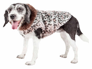 Pet Life ?? Luxe 'Furracious' Cheetah Patterned Mink Dog Coat Jacket - Yip & Purr?? Official Website