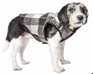 Pet Life ?? 'Black Boxer' Classical Plaided Insulated Dog Coat Jacket - Yip & Purr?? Official Website
