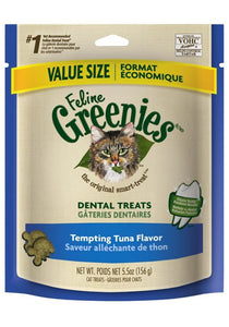 Greenies Feline Dental Treats - Tempting Tuna Flavor
