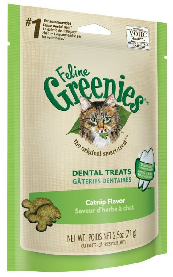 Greenies Feline Dental Treats - Catnip Flavor