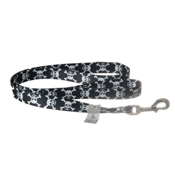 Pet Attire Styles Skulls Dog Leash