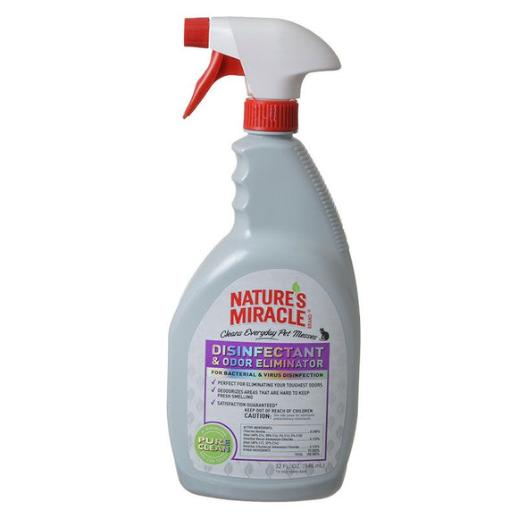 Nature's Miracle Disinfectant & Odor Eliminator Spray