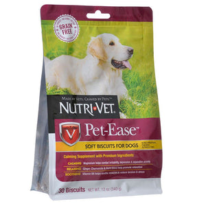 Nutri-Vet Pet-Ease Grain Free Soft Biscuits for Dogs