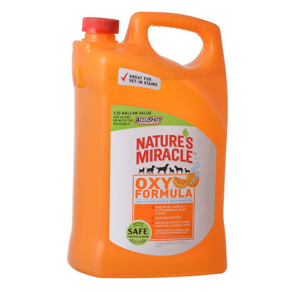 Nature's Miracle Orange Oxy Formula Dual Action Stain & Odor Remover