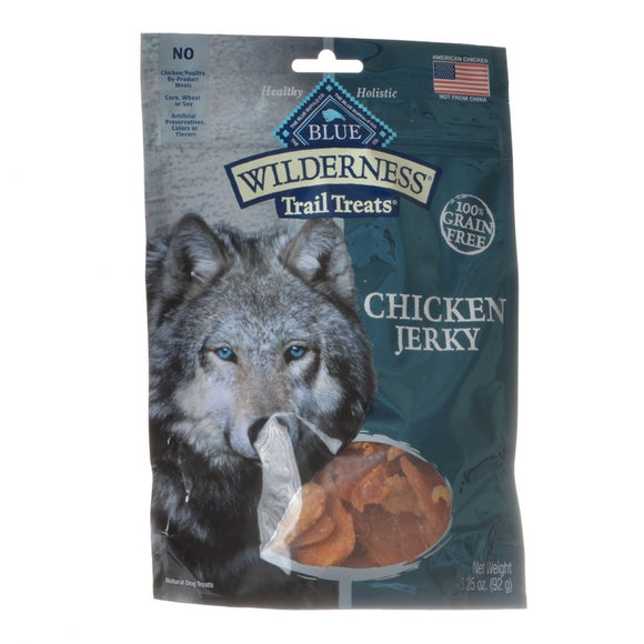 Blue Buffalo Wilderness Trail Treats for Dogs - Chicken Jerky