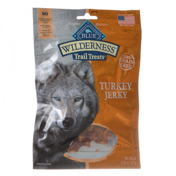 Blue Buffalo Wilderness Trail Treats for Dogs - Turkey Jerky