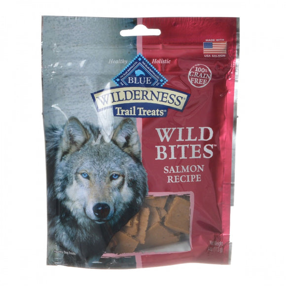 Blue Buffalo Wilderness Trail Treats Wild Bites - Salmon Recipe