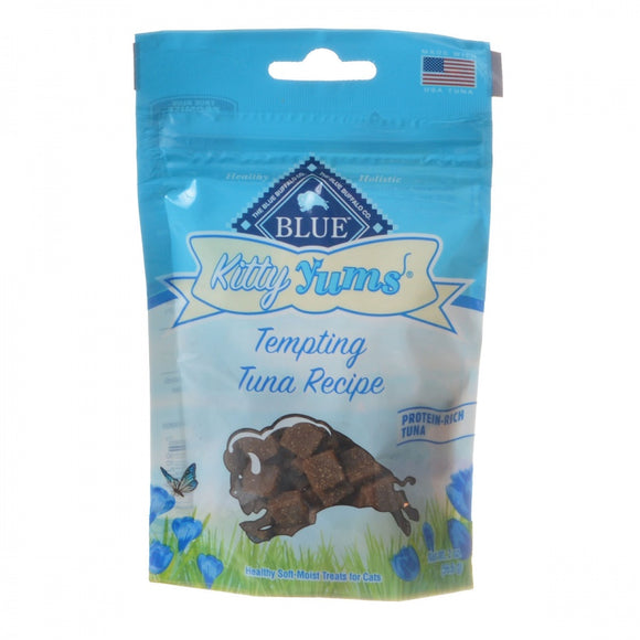 Blue Buffalo Kitty Yums Moist Cat Treats - Tempting Tuna Recipe