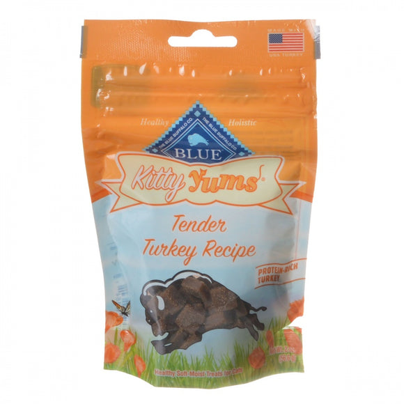 Blue Buffalo Kitty Yums Moist Cat Treats - Tender Turkey Recipe
