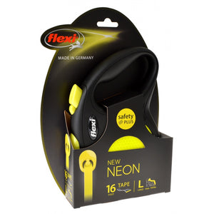Flexi New Neon Retractable Tape Leash