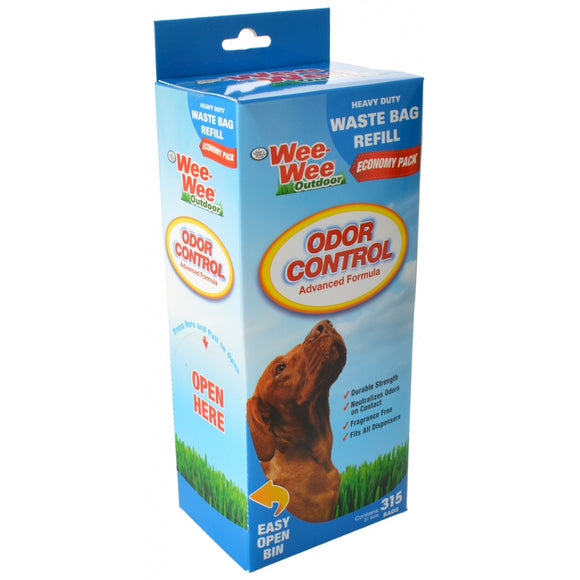Wee-Wee Outdoor Odor Control Heavy Duty Waste Bag Refill