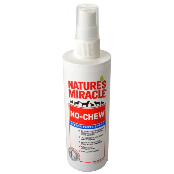 Nature's Miracle No-Chew Bitter Taste Spray for Dogs