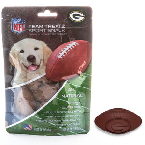 Green Bay Packers Dog Treats - Yip & Purr® Official Website