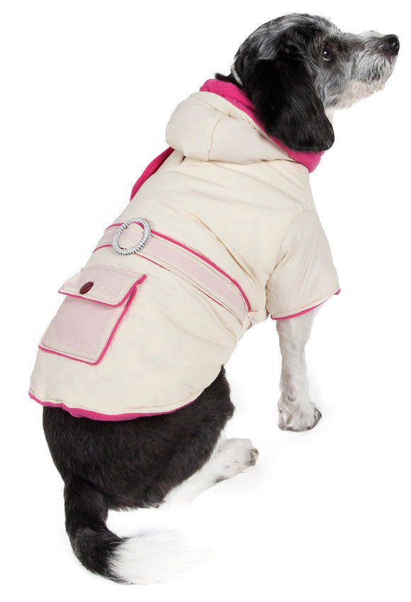 Double-Toned Jewel Pet Jacket