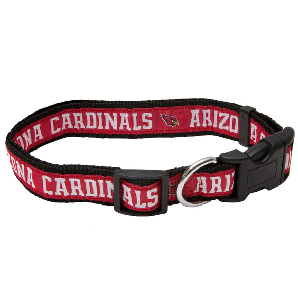 Arizona Cardinals Dog Collar - Ribbon - Yip & Purr® Official Website