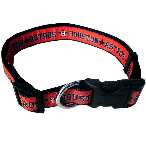 Houston Astros Collar- Ribbon - Yip & Purr® Official Website