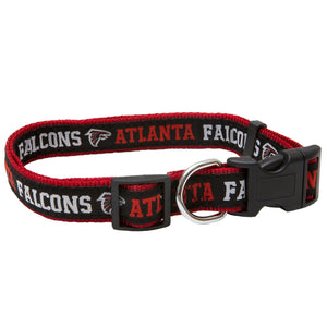 Atlanta Falcons Dog Collar -Ribbon - Yip & Purr® Official Website