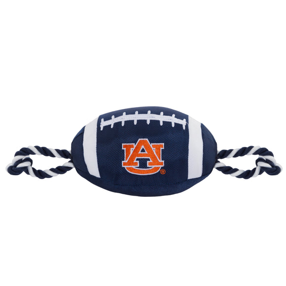 Auburn nylon Football Dog Toy - Yip & Purr® Official Website