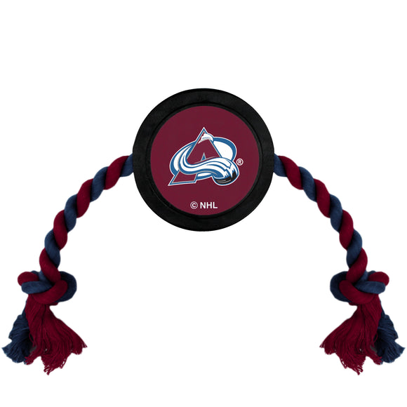 Colorado Avalanche Hockey Puck Toy - Yip & Purr® Official Website