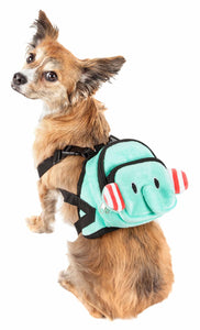 Pet Life ?? 'Dumbone' Dual-Pocketed Compartmental Animated Dog Harness Backpack - Yip & Purr?? Official Website