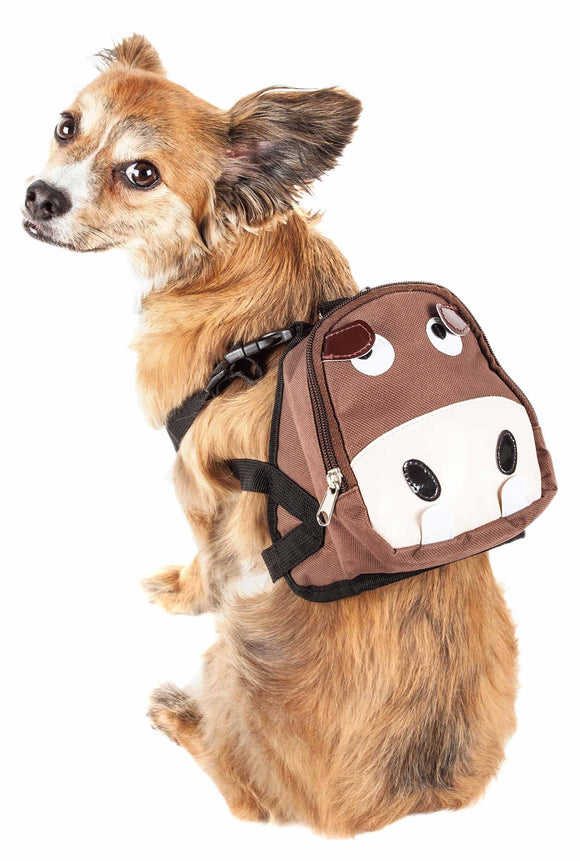 Pet Life ?? 'Mooltese' Large-Pocketed Compartmental Animated Dog Harness Backpack - Yip & Purr?? Official Website