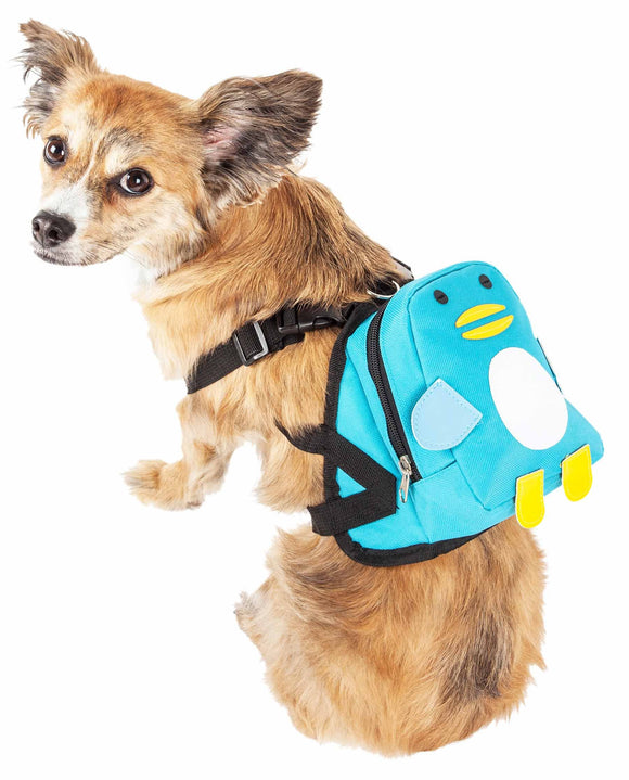 Pet Life ?? 'Waggler Hobbler' Large-Pocketed Compartmental Animated Dog Harness Backpack - Yip & Purr?? Official Website