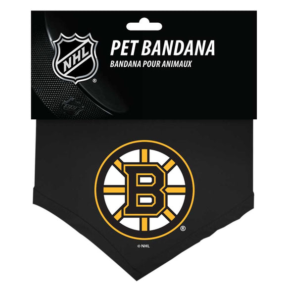 Boston Bruins Reversible Bandana - Yip & Purr® Official Website