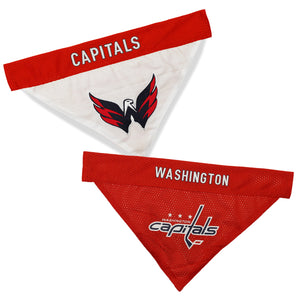 Washington Capitals Reversible Bandana - Yip & Purr® Official Website