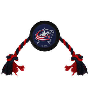 Columbus Blue Jackets Hockey Puck Toy - Yip & Purr® Official Website