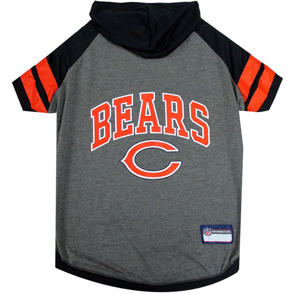 Chicago Bears Hoody  Pet Tee Shirt - Yip & Purr® Official Website