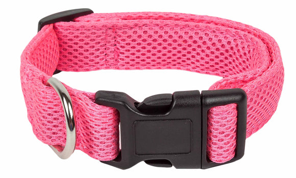 Pet Life ?? 'Aero Mesh' 360 Degree Dual Sided Comfortable And Breathable Adjustable Mesh Dog Collar - Yip & Purr?? Official Website