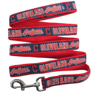 Cleveland Indian Leash- Ribbon - Yip & Purr® Official Website