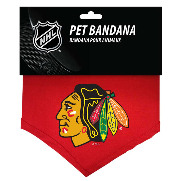 Chicago Blackhawks Reversible Bandana - Yip & Purr® Official Website
