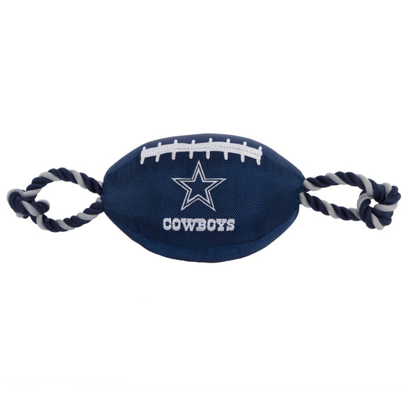 Dallas Cowboys nylon Dog Toy - Yip & Purr® Official Website