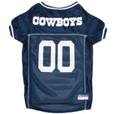 Dallas Cowboys Pet Jersey - Gray Trim - Yip & Purr® Official Website
