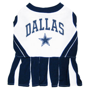 Dallas Cowboys Cheerleader Pet Dress - Yip & Purr® Official Website