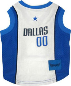 Dallas Mavericks Pet Jersey