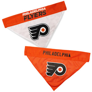 Philadephia Flyers Reversible Bandana - Yip & Purr® Official Website