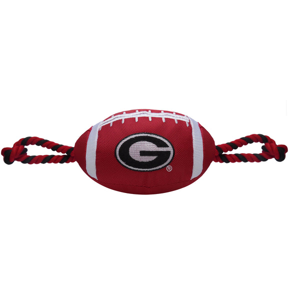 Georgia Nylon Football Dog Toy - Yip & Purr® Official Website