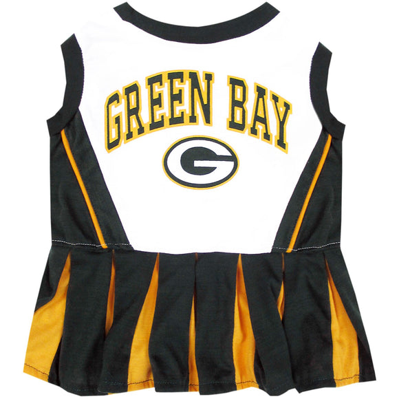 Green Bay Packers Cheerleader Pet Dress