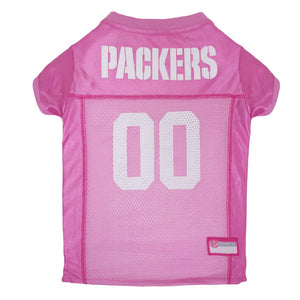 Green Bay Packers Pet Jersey - Pink - Yip & Purr® Official Website