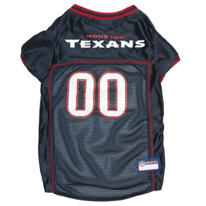 Houston Texans Pet Jersey - Red Trim