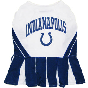 Indianapolis Colts Cheerleader Pet Dress - Yip & Purr® Official Website