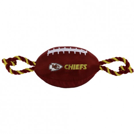 Kansas City Chiefs Nylon Dog Toy